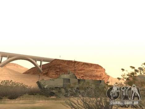 BMP-3 para GTA San Andreas vista interior