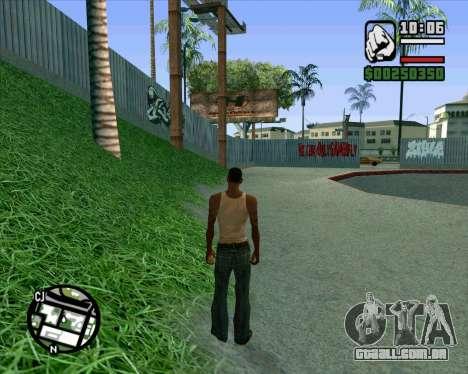 Novo HD Skate Park para GTA San Andreas oitavo tela