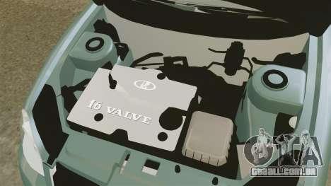 VAZ-2170 Lada Priora para GTA 4 vista de volta