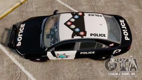 Ford Taurus Liberty State Police para GTA 4 vista direita
