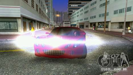 Lotus Elise para GTA Vice City vista interior