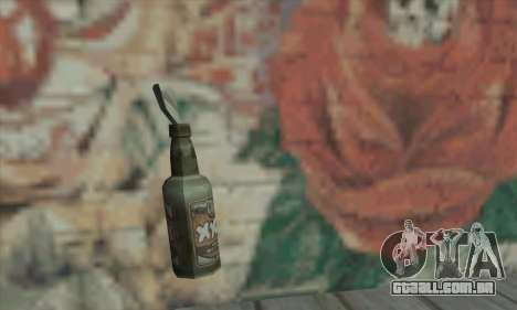 Coquetel Molotov de Saints Row 2 para GTA San Andreas