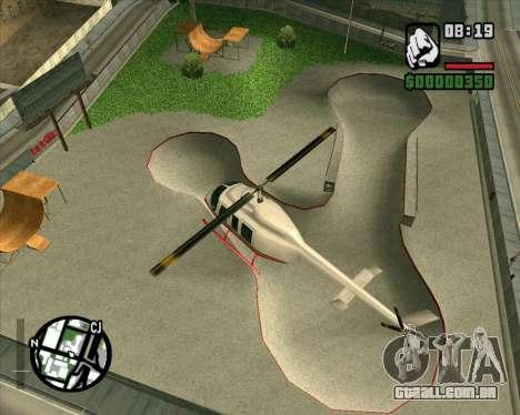 Novo HD Skate Park para GTA San Andreas terceira tela