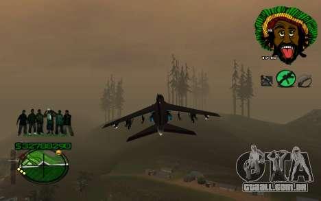 Com Groove-HUD St 4Life para GTA San Andreas segunda tela