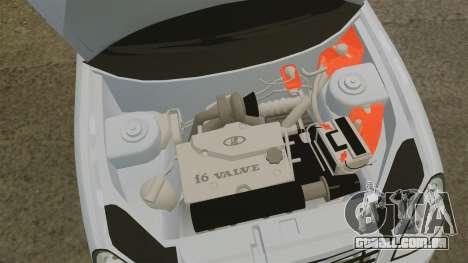 VAZ-2170 Priora para GTA 4 vista interior