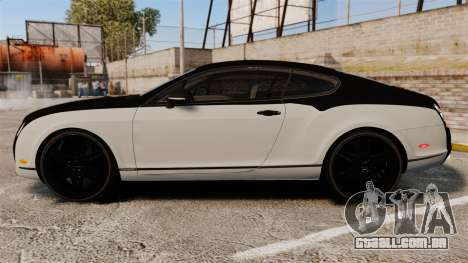 Bentley Continental SS v3.0 para GTA 4 esquerda vista
