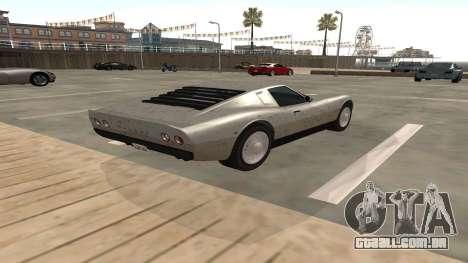Monroe de GTA 5 para GTA San Andreas vista direita