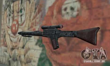 Rifle sniper de Star Wars para GTA San Andreas segunda tela