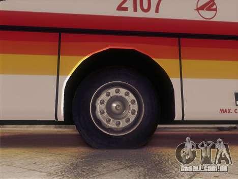Man 14.220 (Santarosa Exfoh) - Victory Liner 210 para GTA San Andreas traseira esquerda vista