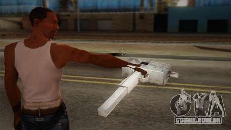 Uzi de Max Payne para GTA San Andreas segunda tela