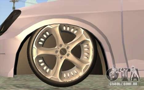 Chevrolet Celta 2010 para GTA San Andreas traseira esquerda vista