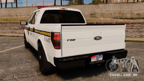 Ford F-150 2012 CEPS [ELS] para GTA 4 traseira esquerda vista