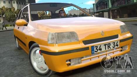 Renault Clio Williams para GTA 4