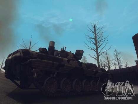 BMP-2 para GTA San Andreas esquerda vista