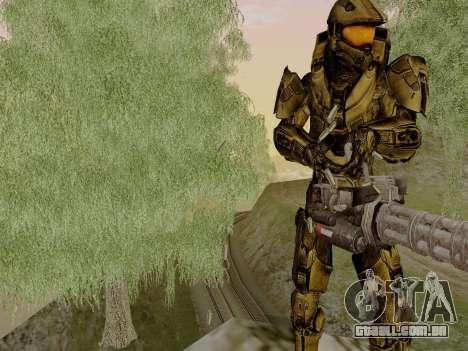 Master Chief para GTA San Andreas segunda tela