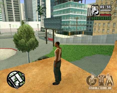 Novo HD Skate Park para GTA San Andreas sétima tela