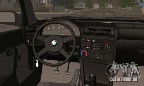 BMW M3 E30 para o motor de GTA San Andreas