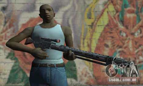 Rifle sniper de Star Wars para GTA San Andreas terceira tela