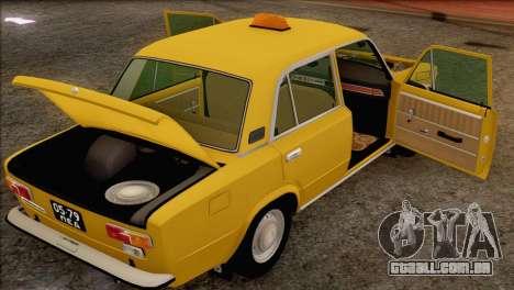 VAZ 21011 Taxi para as rodas de GTA San Andreas
