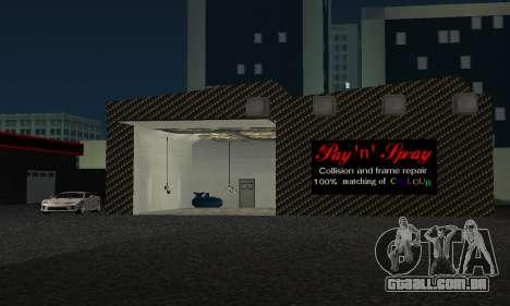 Novo showroom em Dorothi para GTA San Andreas