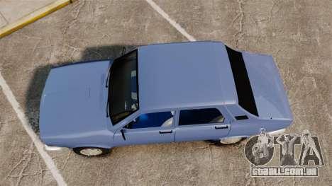 Renault 12 Toros v2.0 para GTA 4 vista direita