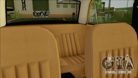 VAZ 21011 Taxi para GTA San Andreas vista superior