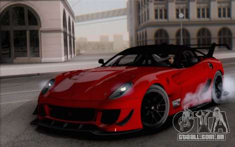 Ferrari 599XX Evolution para GTA San Andreas