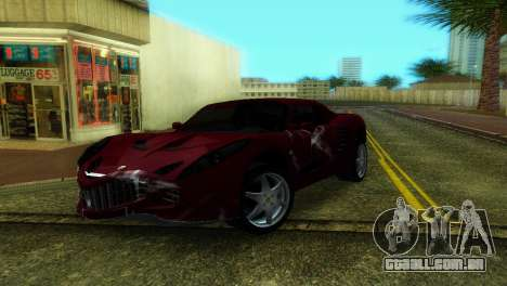Lotus Elise para GTA Vice City vista traseira