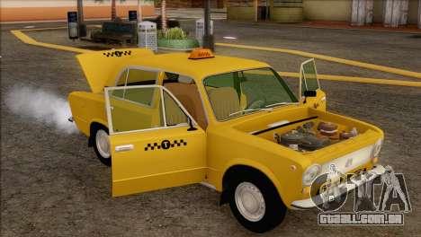 VAZ 21011 Taxi para GTA San Andreas interior