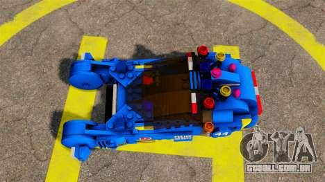 Lego Car Blade Runner Spinner [ELS] para GTA 4 vista direita