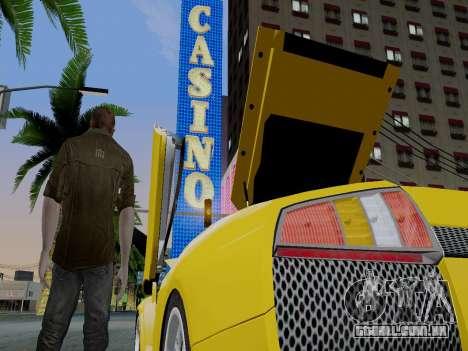 Clay Kaczmarek ACR para GTA San Andreas segunda tela
