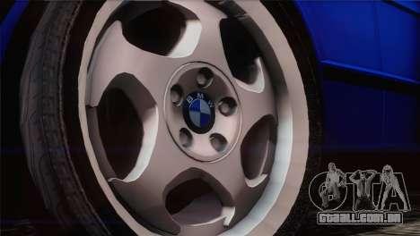 BMW 535i E34 Mafia Style para GTA San Andreas vista direita