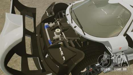 Gumpert Apollo S 2011 para GTA 4 vista interior