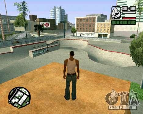 Novo HD Skate Park para GTA San Andreas