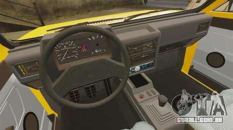 Volkswagen Voyage 1990 para GTA 4 vista lateral