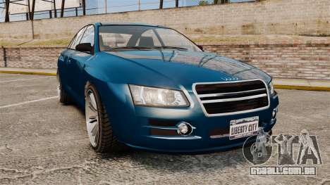 GTA V Tailgater (Michael Car) para GTA 4