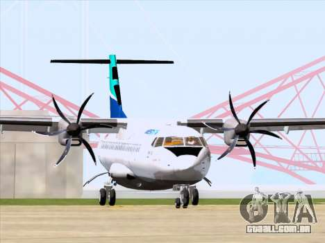 ATR 72-500 WestJet Airlines para GTA San Andreas esquerda vista