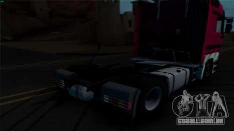 Mercedes-Benz 1840 para GTA San Andreas vista interior