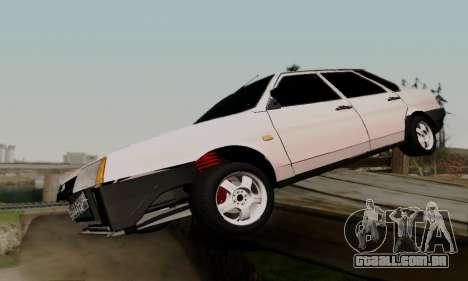 VAZ 21099 Hobo para vista lateral GTA San Andreas