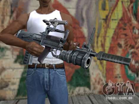 Rifle de STALKER para GTA San Andreas terceira tela