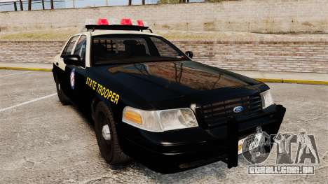 Ford Crown Victoria 1999 Florida Highway Patrol para GTA 4