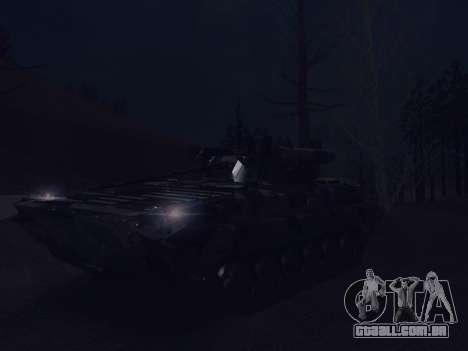 BMP-2 para GTA San Andreas vista inferior