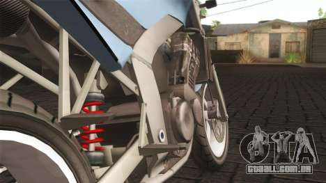 Ducati FRC900 v3 para GTA San Andreas traseira esquerda vista