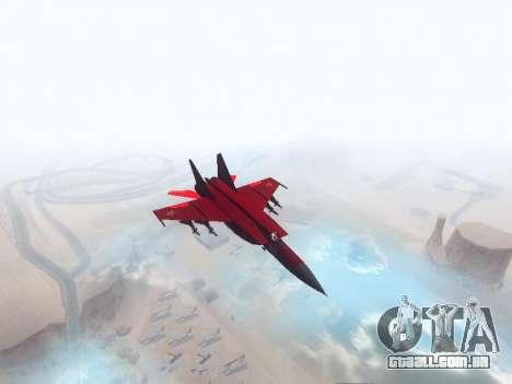 MiG-25 para GTA San Andreas