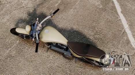 GTA IV TLAD Nightblade para GTA 4 traseira esquerda vista