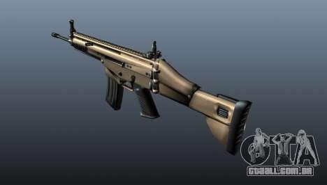 Fuzil de assalto SCAR-L para GTA 4 segundo screenshot