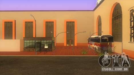 Estação de autocarros, Los Santos para GTA San Andreas segunda tela