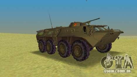 BTR-80 para GTA Vice City vista direita
