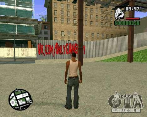 Novo HD Skate Park para GTA San Andreas segunda tela