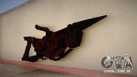 Lança-chamas de Bulletstorm para GTA San Andreas
